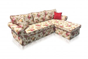 Corner Sofa with Sleeper Function K-24