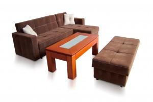 Corner Sofa with an Ottoman K-31