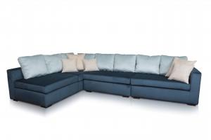 Практичен ъглов диван K-91